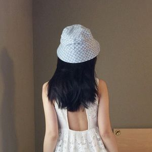 Ann Taylor LOFT Floral Bucket Hat